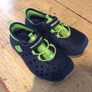 Boys sketcher water shoes. Size 9